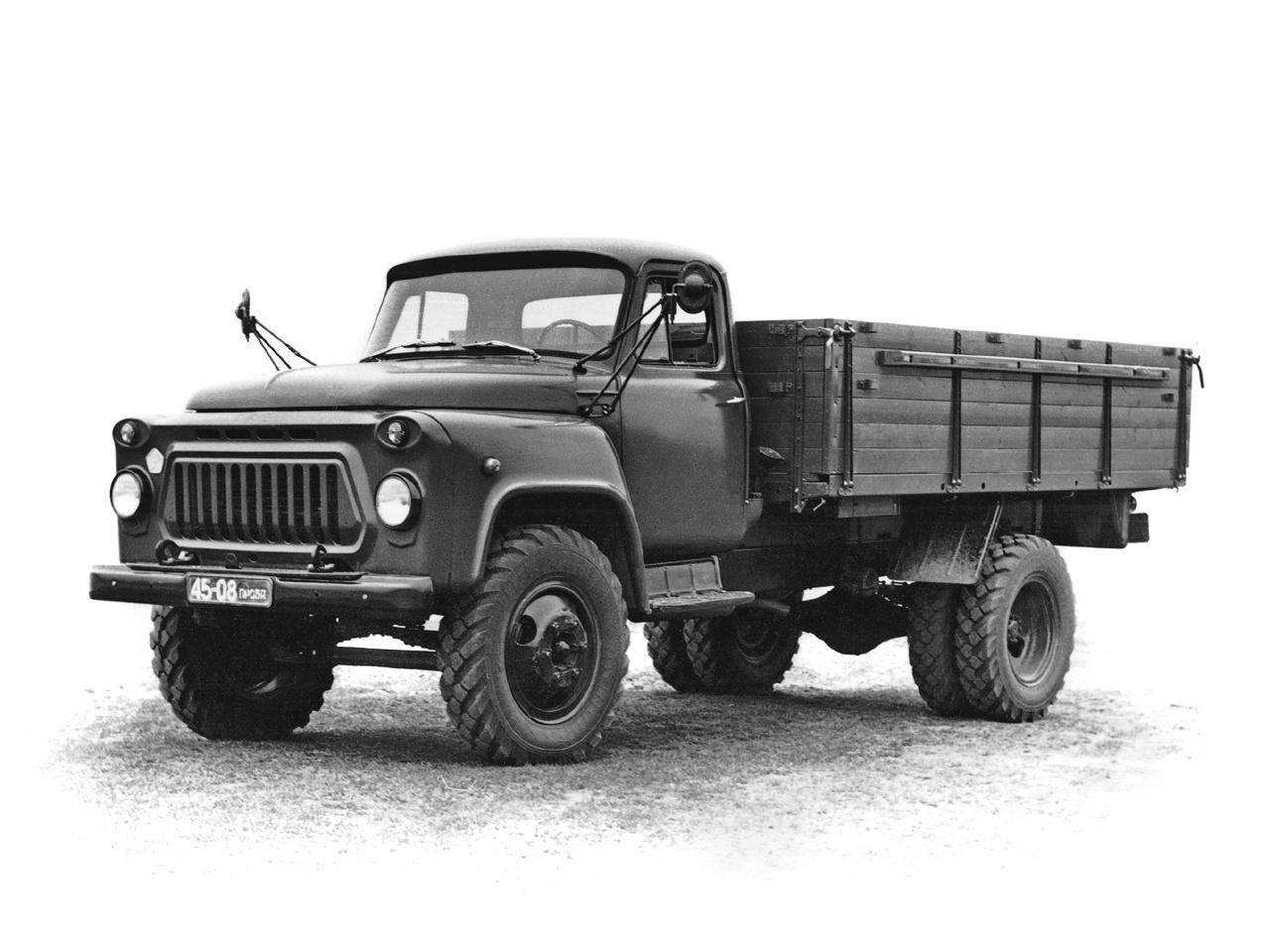 russian truck gaz-53