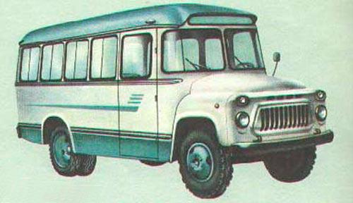 Руководство Автобусы Кавз